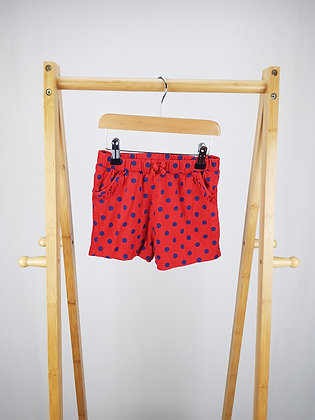 George spotted shorts 4-5 years