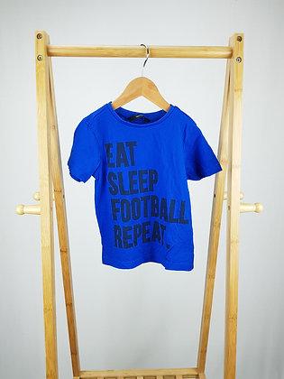 George blue t-shirt 4-5 years