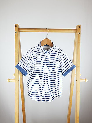 Matalan striped shirt 4 years