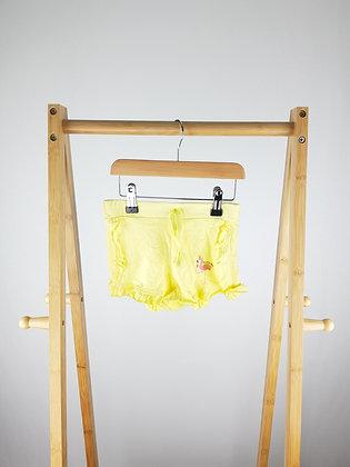 Primark yellow shorts 3-4 years