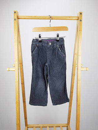 Denim Co corduroy trousers 2-3 years