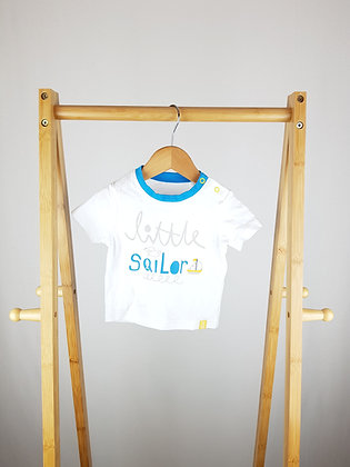 TU little sailor t-shirt 3-6 months