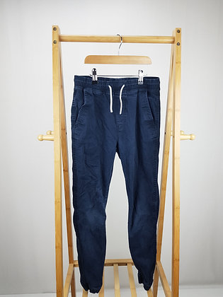 H&M navy trousers 12-13 years