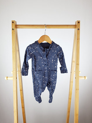 George stars sleepsuit first size
