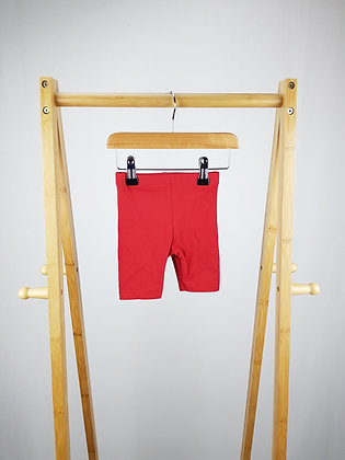 George red shorts 9-12 months
