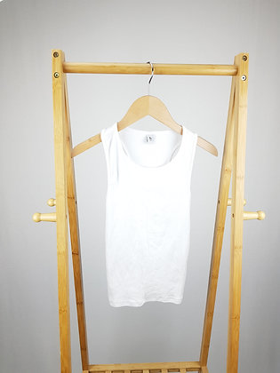 TU white ribbed vest top 12 years