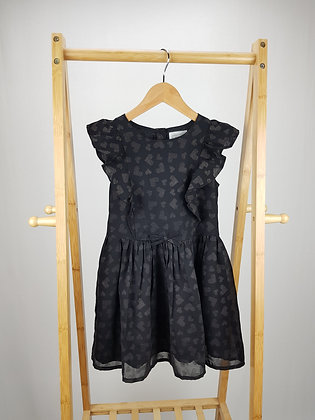 Kaisely heart print dress 5-6 years