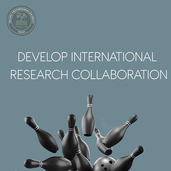 Develop International Research Collaboration- STAFF