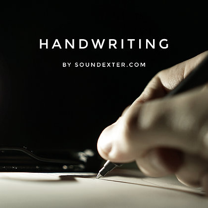 Handwriting (Extended License)