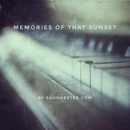 Memories Of That Sunset (Basic License)
