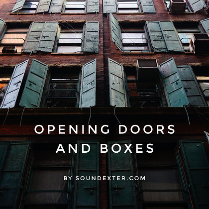 Opening Doors and Boxes (Extended License)