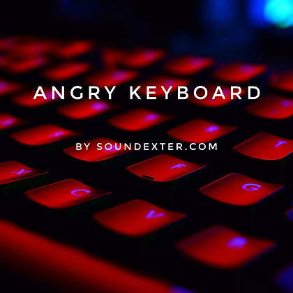 Angry Keyboard (Extended License)