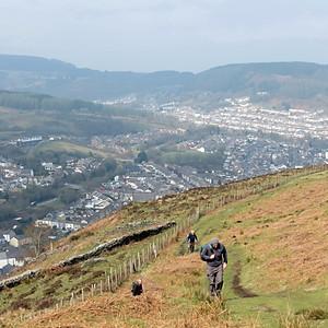Porth (Rhondda) - Mynydd Dinas (6m)