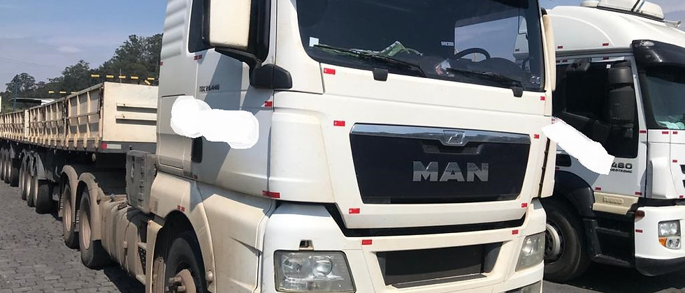 Man Tgx 29.440 - 6x4 - 2015 - Completo - Teto Alto