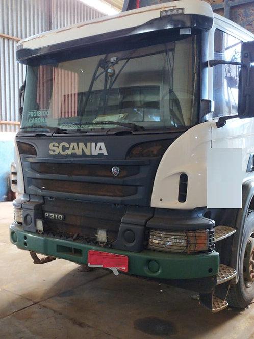 Scania P 310 - 6x4 - 2013 - Manual - Chassi - Cabininha