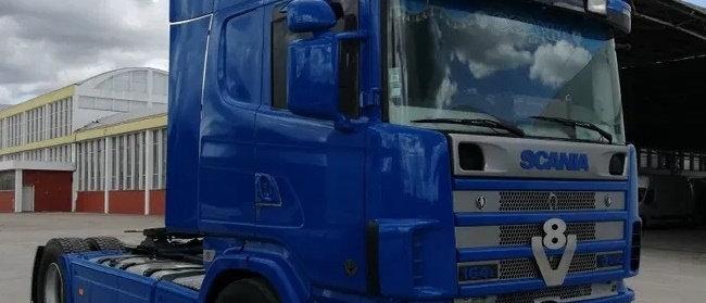 Scania 164 580cv V8 - 4x2 - 2002