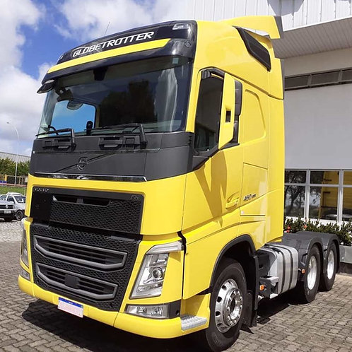Volvo New Fh 460 - 6x2 - 2020 - Globetrotter - Ishift - Eixo Curto