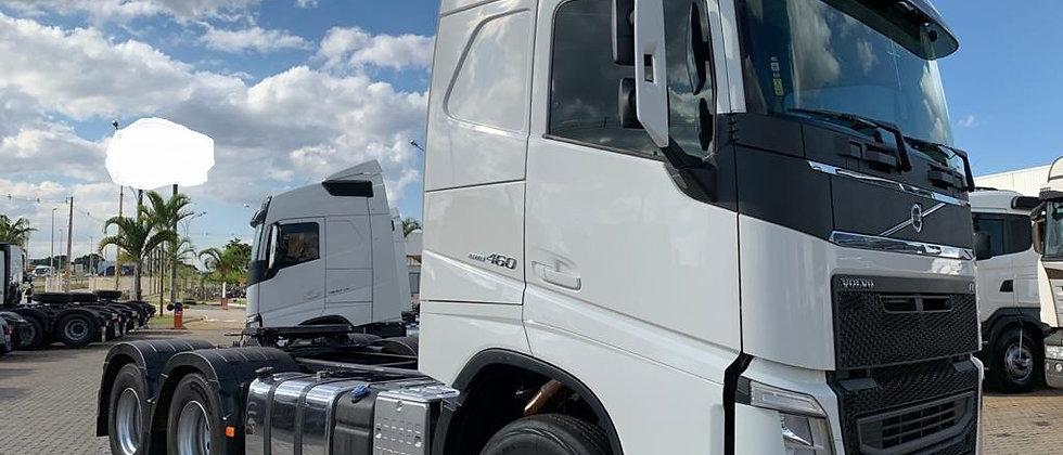 Volvo FH 460 - 2018 - 6X4 - Teto Alto -  Leito