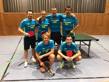 TSV Finning Tischtennis Mannschaft 2020/2021