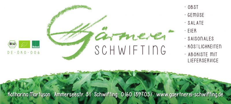 Gärtnerei, Schwifting