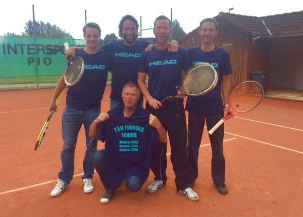 TSV Finning Tennis Mannschaft Herren