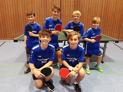 TSV Finning Tischtennis Jugend I