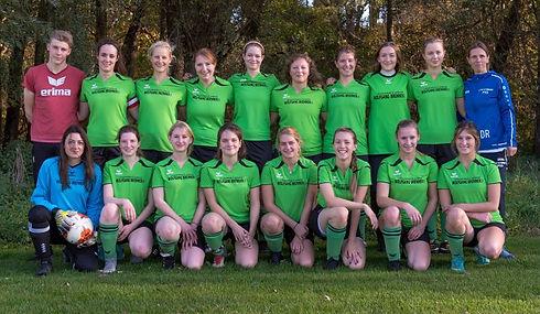 TSV Finning Fussball Mannschaft Damen