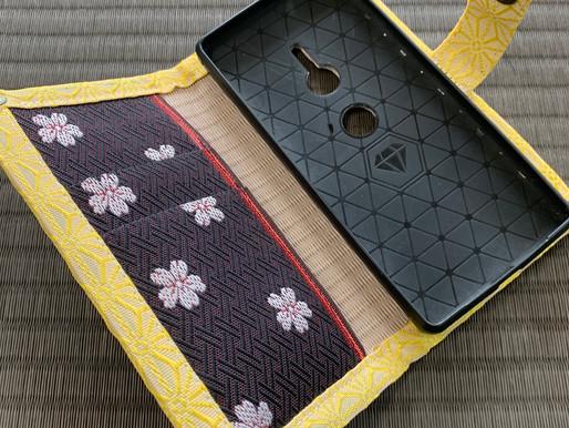 畳のスマホカバー