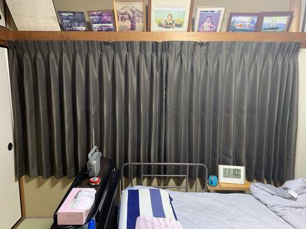 オーダーカーテンの施工例