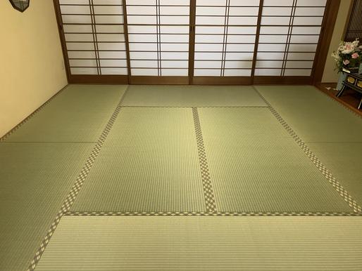 熊本県産畳表を使用した施工例です