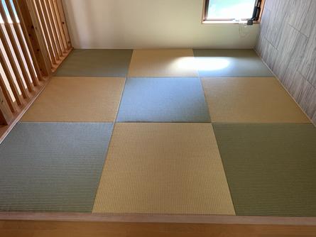 縁無し畳の施工例