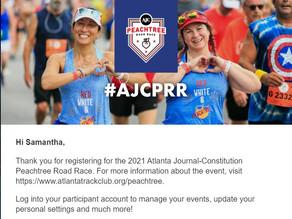 Peachtree Road Race 2021