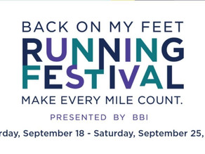 Back On My Feet Running Festival Virtual 15k