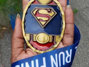 Medal Monday: DC Superman Virtual 5k