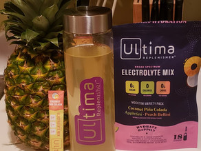 Happy Hour on the Pavement: Ultima Mocktini Hydration Drinks