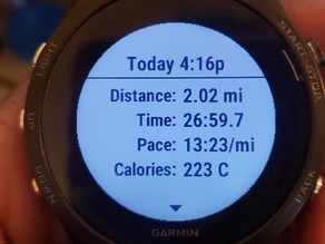 February Running Report