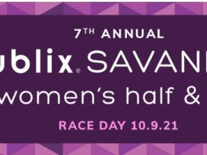 Publix Savannah Women's Half Marathon Update