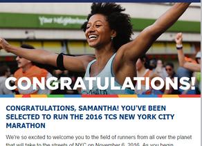 NYC Marathon here I come