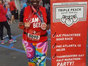 Thanksgiving Half Marathon (Triple Peach)