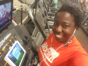 Getting the miles in on a treadmill with Zwift