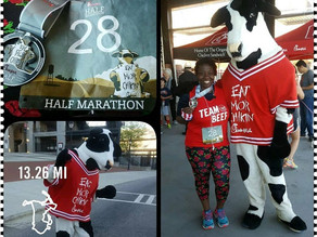 Memory Monday:2017 Chick Fil A Half Marathon