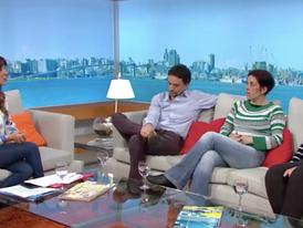 """Entrevista en """"Buen Día Uruguay""""        Canal 4"""