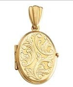 14k Yellow Gold Locket