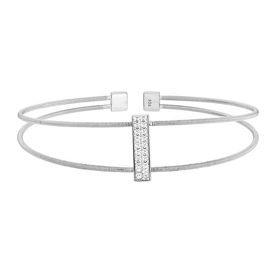 Bella Cavo Sterling Silver Bar Bracelet