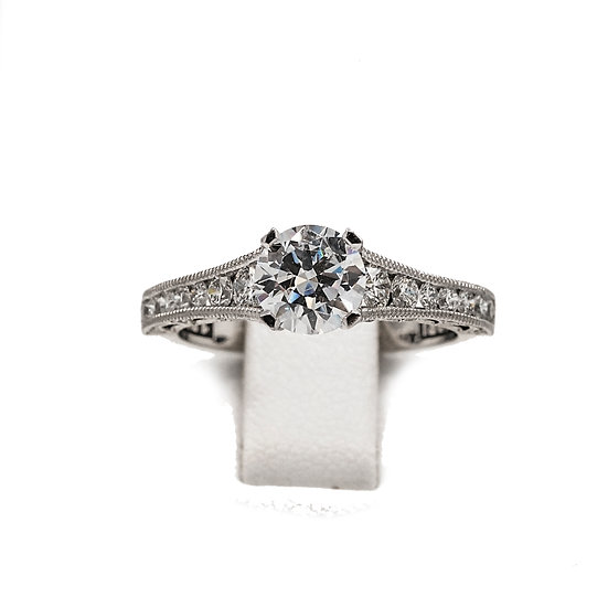 Tacori Taper Solitaire Engagement Ring Style: HT25106.512xW