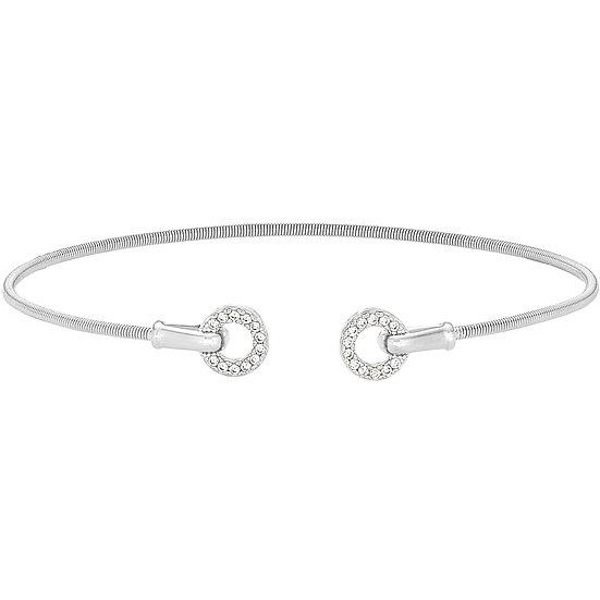 Bella Cavo Sterling Silver Open Circle Bracelet