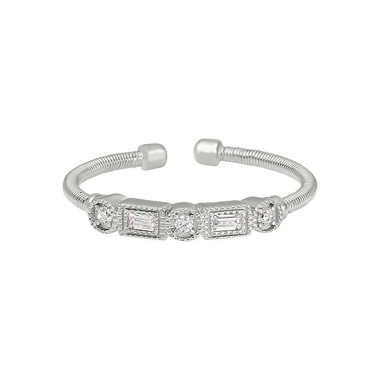 Bella Cavo Adjustable Sterling Silver Ring