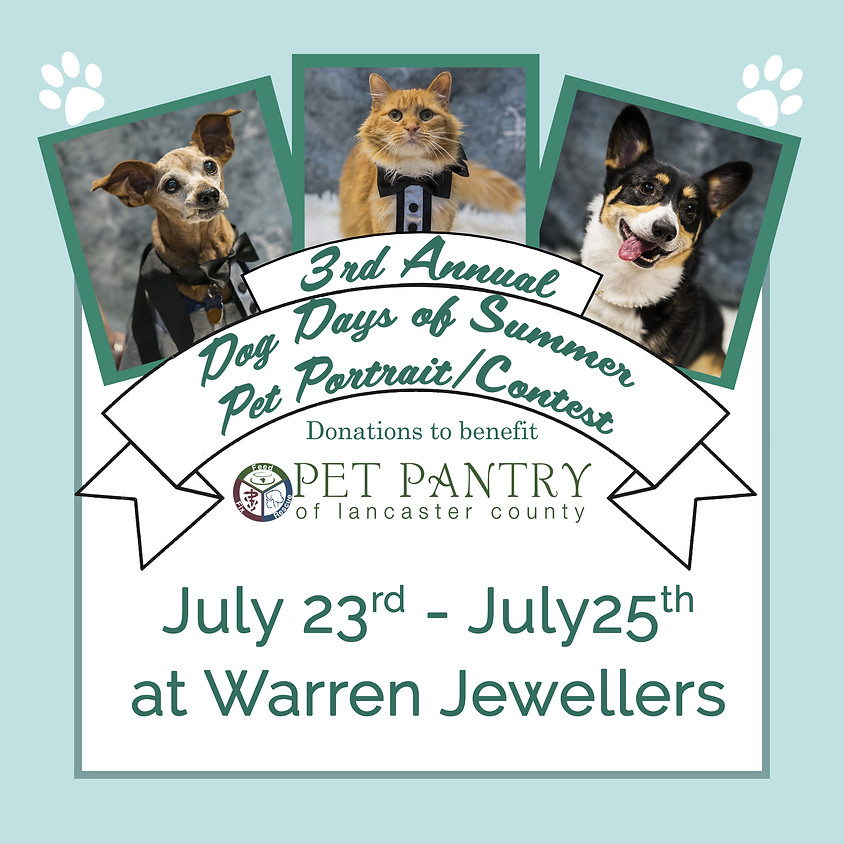 3rd Annual Dog Days of Summer Pet Photo Contest