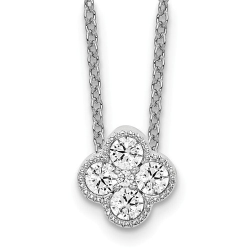 Lab Grown Diamond Bloom Necklace