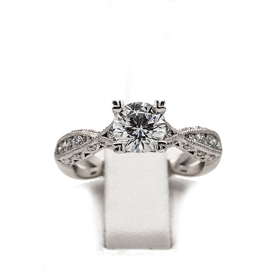 Tacori Twist Solitaire Engagement Ring Style: 2578RD6.212W